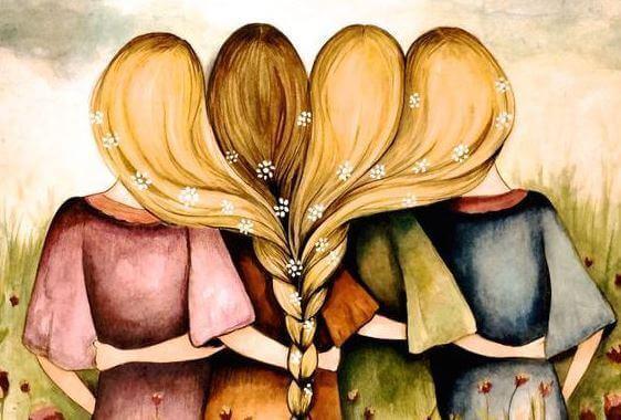 Femmes-unies-par-les-cheveux