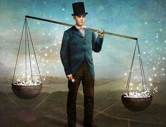 Homme-balance