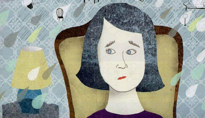 femme anxieuse