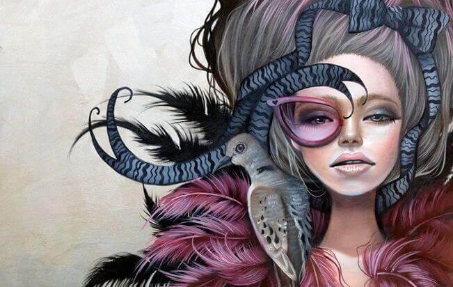 mujer-estrambótica-representado-ser-la-la-oveja-negra