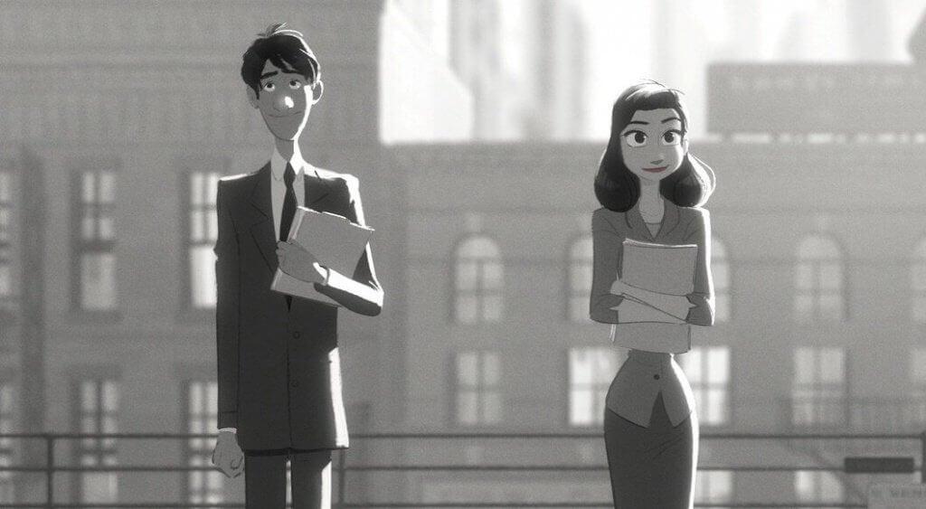 Paperman, un court métrage où on découvre la magie du destin