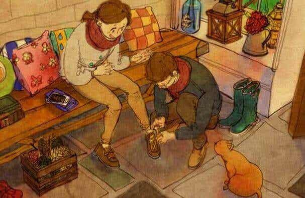 Traiter l'autre avec affection, c'est toucher son âme avec respect
