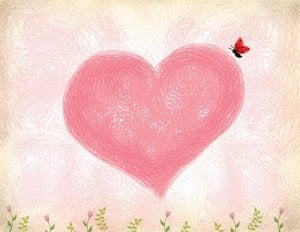 Coeur-rose-amour