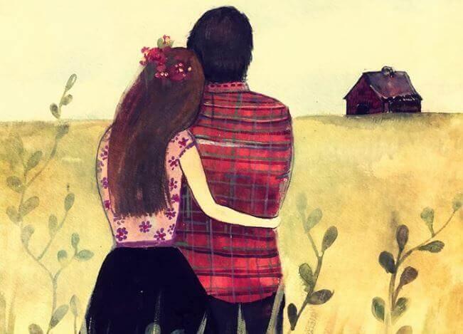 Couple-regardant-l'horizon