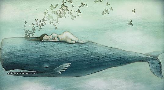 Fille-endormie-sur-une-baleine