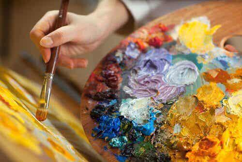 La peinture comme thérapie