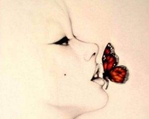 Papillon-bouche
