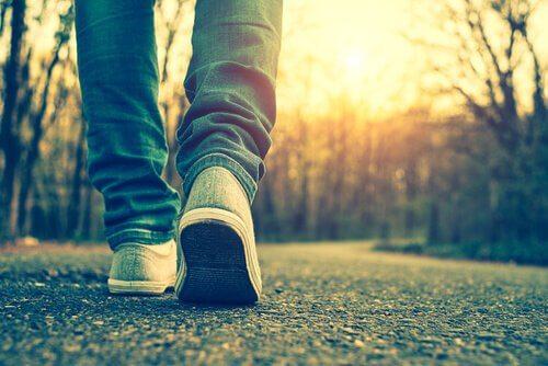 Pies-andando-por-un-camino
