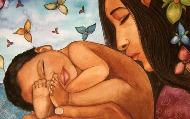Être mère c'est avoir le cœur en dehors du corps