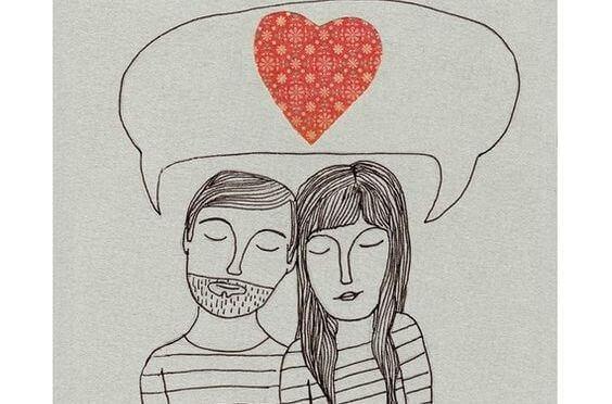 pareja-pensando-en-el-amor