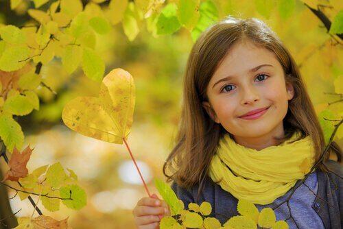 Un enfant aimable est un enfant sain