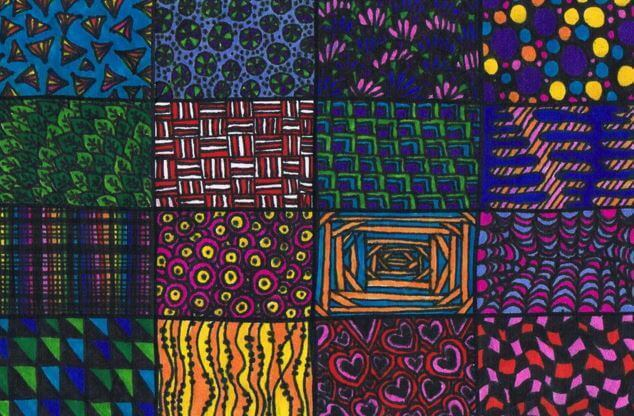 zentangle-de-colores