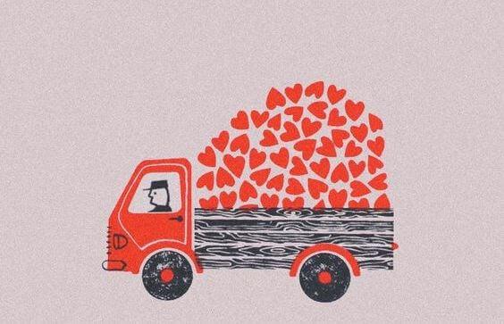 Camion-coeurs
