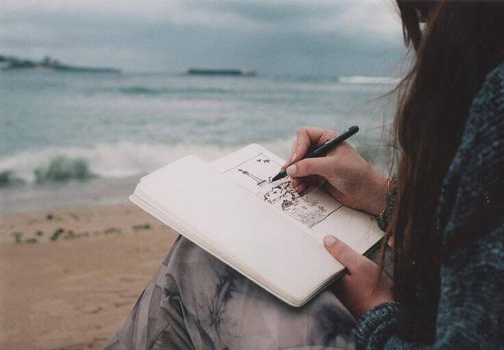 La créativité est la libre voix qui naît du cœur
