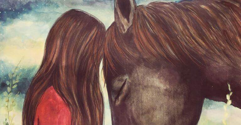 Fille-et-cheval
