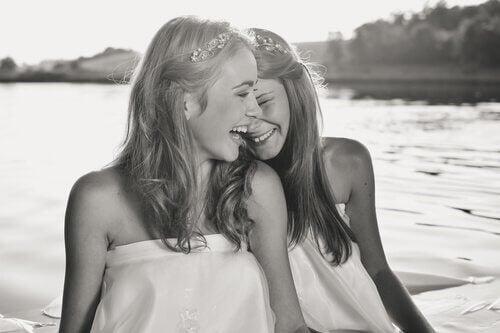 Les personnes qui savent sourire profitent de la vie
