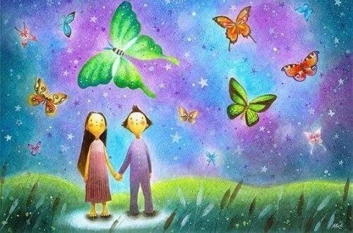 Ne retenez pas des amours, des espoirs ou des peurs qui voudraient s'évanouir