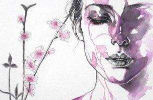 Illustration-femme-en-rose