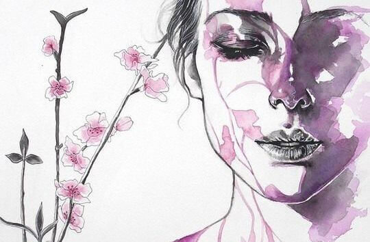 Illustration-femme-en-rose