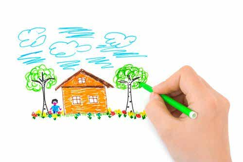 Maison, arbre, personne : le test de la personnalité (HTP)