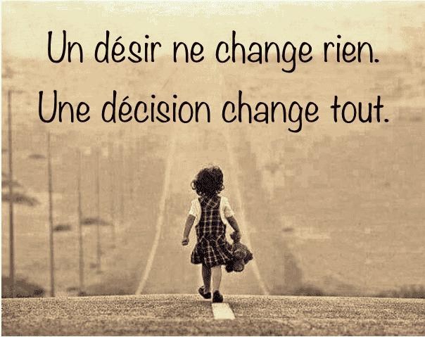 Je suis moi, mes circonstances et mes décisions me définissent