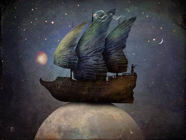 bateau-aile