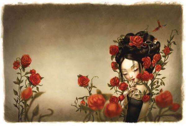 Cherchez le bonheur sans contes de fées, pas un conte de fées avec une fin heureuse