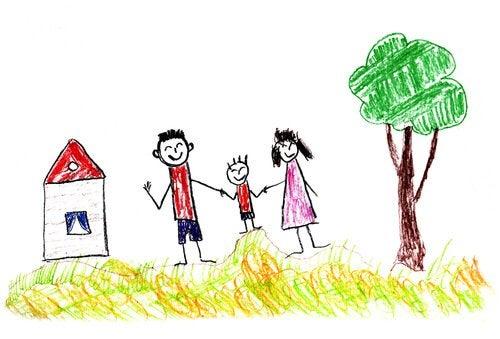 dessin-arbre-maison-famille