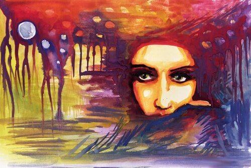 femme-peinture