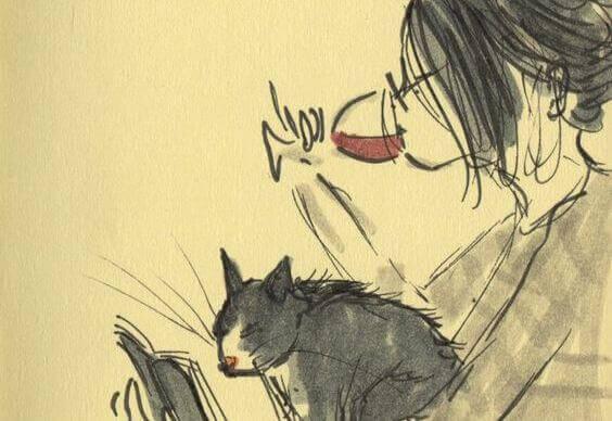 fille-buvant-du-vin-chat