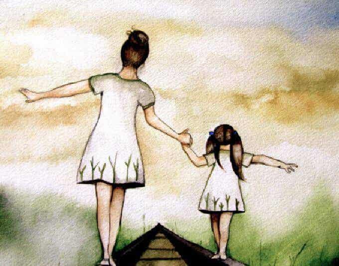 Amour et éducation sont deux mots qui parcourent le monde main dans la main