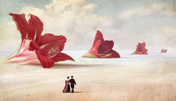 Couple-se-promenant-dans-les-fleurs-geantes-e1451859642439