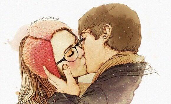 Couple-s'embrassant