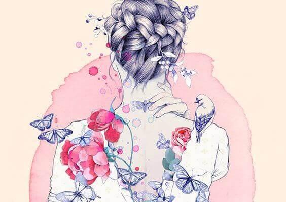 Femme-illustration-dos