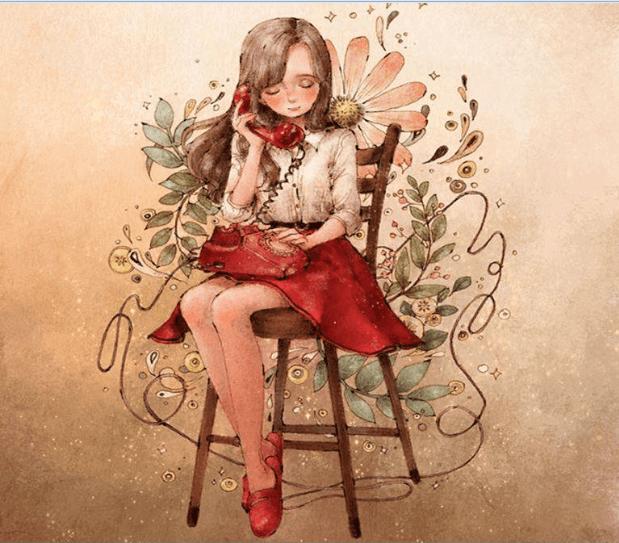 Jeune-fille-au-telephone
