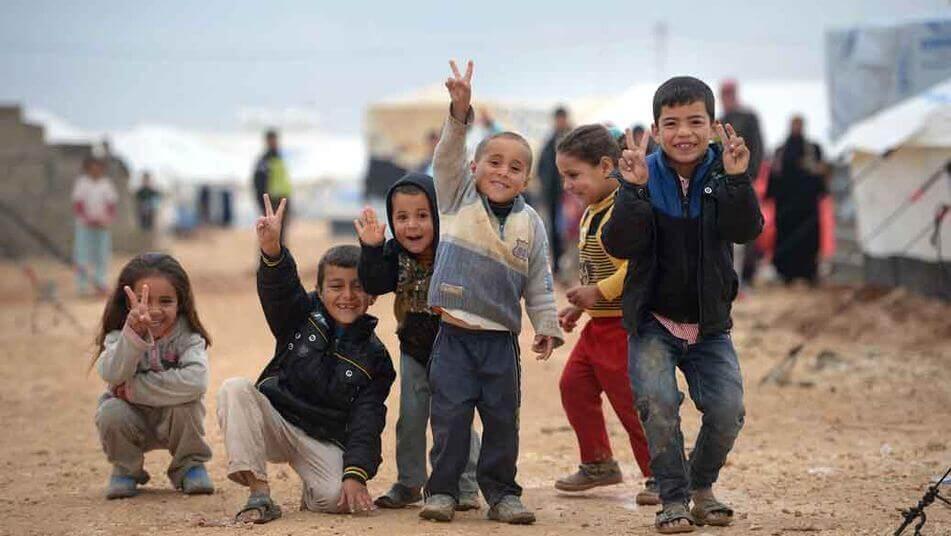 Enfants réfugiés : coeurs blessés en quête d'espoir