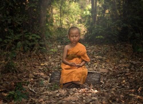 Racontes moi, inventes moi des histoires simples de la simple vie Nin%CC%83o-budista-meditando