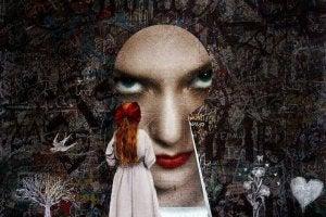 femme-visage-serrure
