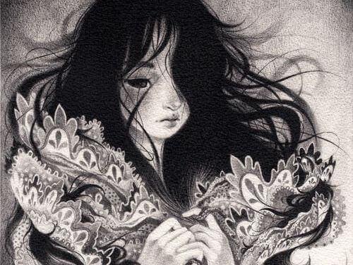 ilustracion-blanco-y-negro-de-joven-sufriendo-por-necesidades-neuroticas