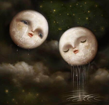 lunas-llorando-expresando-el-vacio-del-alma