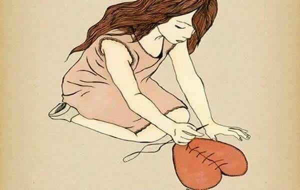 Faire preuve de courage, c'est recoller les morceaux et se reconstruire à nouveau