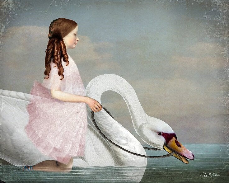 niña-con-cisne1