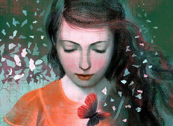 femme-avec-papillons