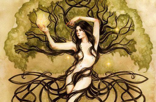 femme-et-arbre