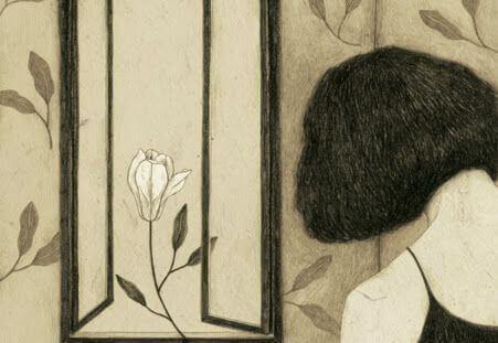 femme-et-fleur