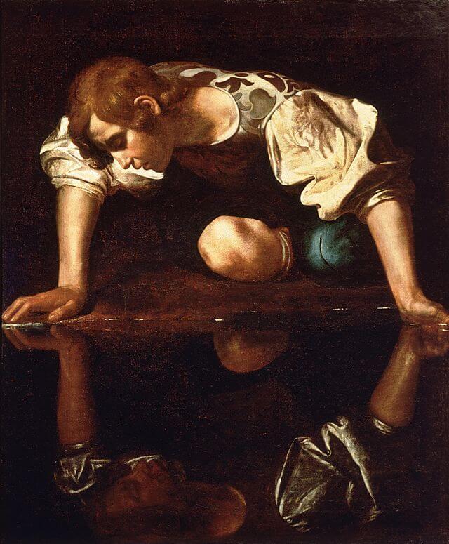 narcissus-caravaggio_1594-96-4-senales-que-advierten-que-estas-con-un-narcisista