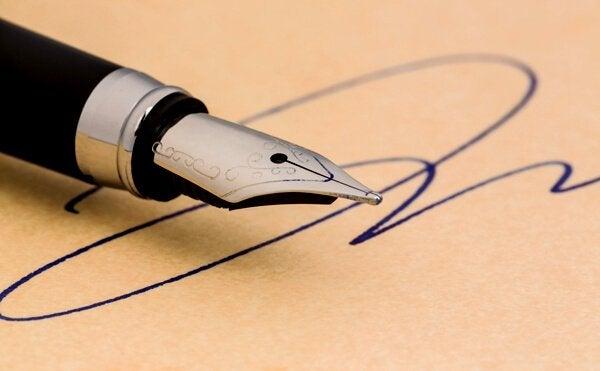 Ce que votre signature dit de vous