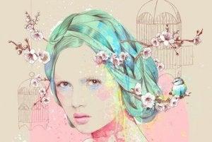 mujer-con-flores-de-almendro-en-el-cabello