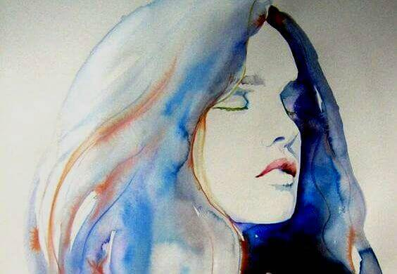femme-bleue