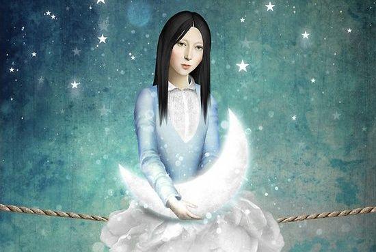 femme-soutenant-la-lune